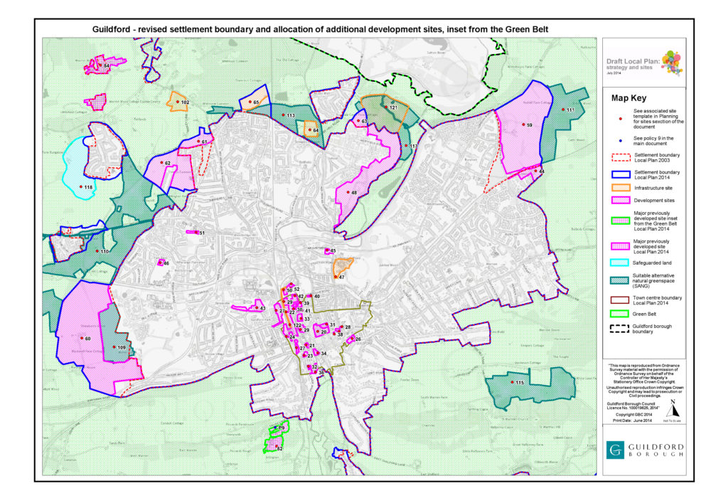 Guildford Local Plan