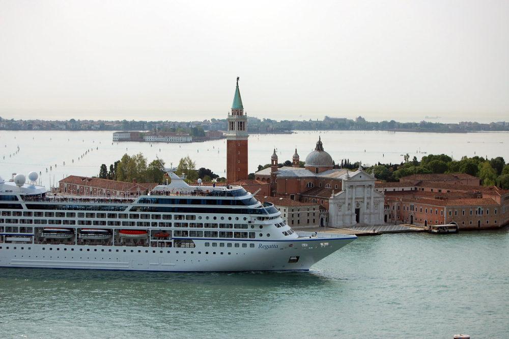 Cruise Ship Venice